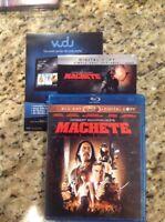 Machete (Blu-ray Disc, 2011, 2-Disc Set)Authentic US Release