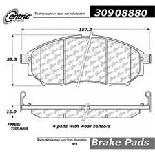 Centric Parts 309.08880 Front Semi-Metallic Brake Pads