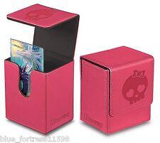 PINK GALAXY SKULL FLIP BOX ULTRA PRO MAGNETIC DECK BOX CARD BOX FOR MTG POKEMON