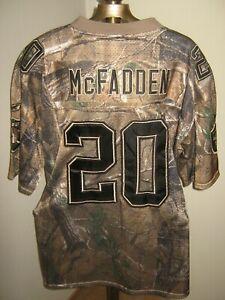 Darren McFadden CAMO #20 Jersey Authentic REEBOK Oakland Raiders ADULT Medium
