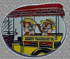 Transportation Chip & Dale in Old Car Pin - DISNEY Cast Lanyard - WDW Series 3