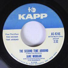 Pop Promo 45 Jane Morgan - The Second Time Around / The Second Time Around On Ka