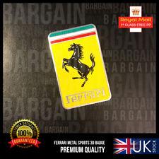 FERRARI 3D EMBLEM SPECIAL EDITION ALUMINIUM EMBLEM BADGE F1 355 458 ITALIA TURBO