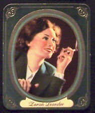 Zarah Leander 1937 Garbaty Passion Film Favorites Embossed Cigarette Card #48