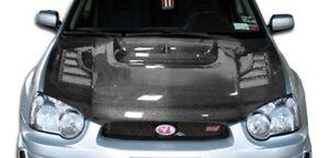 04-05 Subaru Impreza C-1 Carbon Fiber Creations Body Kit- Hood!!! 103127