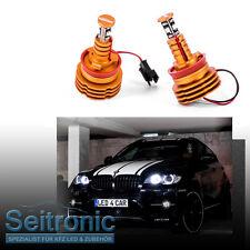 Seitronic® H8 LED Angel Eyes für BMW X6 E71 E72, sehr hell wie F10 Modelle