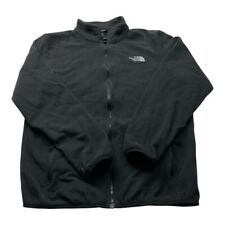"""The North Face Mens Fleece TNF Black Size Large Winter Outdoor Vintage P2P 23"""""""