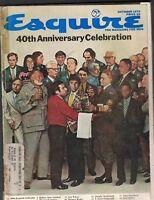 Esquire Magazine October 1973 Ernest Hemingway F Scott Fitzgerald