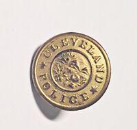 Vintage Cleveland Police Uniform Button 1 inch Superior Quality Mark Brass