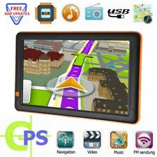 "9"" Car Truck GPS Navigation SAT NAV Navigator System HD FM 8GB Lifetime Free Map"