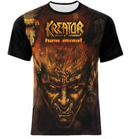 NEW COVER FULLY FRONT PRINT KREATOR T-SHIRT