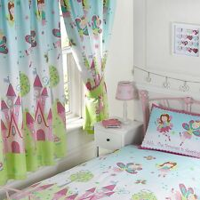 "FAIRY PRINCESS IS SLEEPING 66"" x 72"" LINED CURTAINS NEW matches duvet"