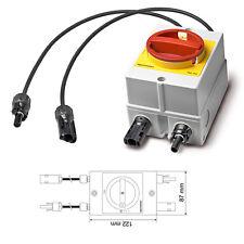 Mastervolt Soladin DC Switch 660V Solar Photovoltaik PV Trennschalter Abschalter