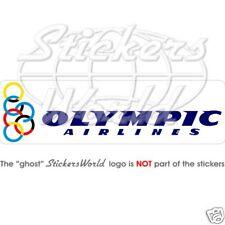 OLYMPIC AIRLINES, Airways, Aviation Vinyl Sticker Decal
