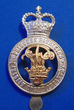 CANADA PPCLI Princess Patricia's Canadian Light Infantry OFFICER cap badge QC