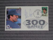 NOLAN RYAN- LE Covers Cachet/Envelope- 300 WINS-July 31,1990- AUTO- COA