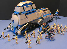LEGO® Brick STAR WARS™ Custom CLONE WARS 7662 MTT™ Gray & Blue + 20 BATTLEDROIDS