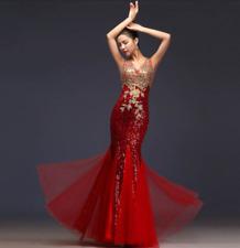 Vestido de Boda Sexy Vestido de noche formal Baile de graduación Fiesta Vestido Cóctel Dama De Honor Largo