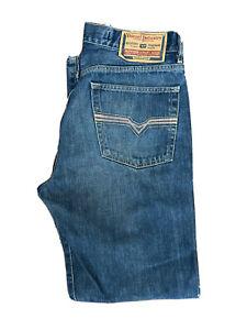 Original Diesel KRATT 794 Regular Straight Leg Blue Denim Jeans W34 L32 ES 8261