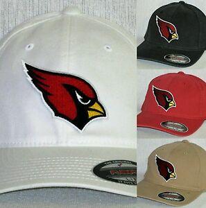 "Arizona Cardinals ""FLEX FIT"" CAP 🏈HAT 🏈CLASSIC NFL PATCH/LOGO 🏈3 SIZES 🏈NEW"