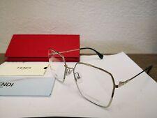 New FENDI Women's FF0333 3YG55 55mm RX-able Optical Frames