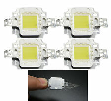 2PCS 10W High Power LED bead chip Cold White 900LM Bulb 10Watt 6500K Lamp Light