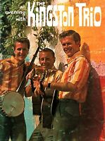 KINGSTON TRIO 1963 SUNNY SIDE! U.S. TOUR CONCERT PROGRAM BOOK BOOKLET / EX 2 NMT