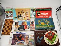 10 Brettspiele Spielsammlung Auflösung Kinderspiele Gesellschaftspiele