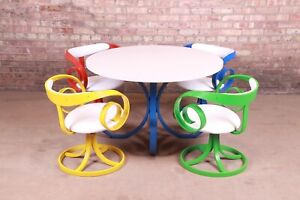 George Mulhauser for Plycraft Sultana Dining Set, 1960s