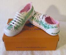 NIB Rocket Dog Lil J Youth Girls Sneakers Shoes 3.5 Green MSRP$35