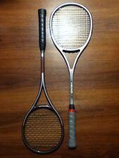 "Head Sxt & Graphite Sx Squash Rackets Strung Racquets 3-3/4"" Minty Free Shipping"