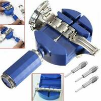 Wrist Bracelet Strap Adjuster Watch Band Link Remover + 5 Pins Repair Tool Set~