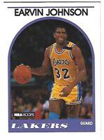 """EARVIN """"MAGIC"""" JOHNSON 1989 NBA Hoops Basketball Card #270"""