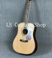 New D45 Acoustic Electric Guitar Rosewood Back&Side Solid Spruce Fishman 101