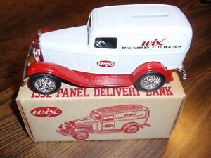 NEW WIX 1932 PANEL DELIVERY TOY BANK
