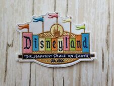 Disn 00006000 eyland D Logo Entrance Sign Disney Parks Iron on Embroidered Patch