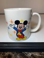 Vintage Disney Mickey Mouse/Magic Kingdom/Epcot Coffee Mug-Excellent Condition