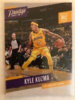 Kyle Kuzma 2017-18 Panini Prestige Rookie Card LOS ANGELES LAKERS RC
