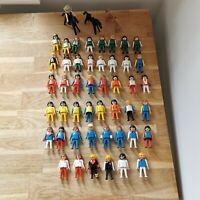 Playmobil Vintage Figure Bundle (47 people, 3 horses)