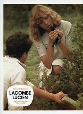 PIERRE BLAISE AURORE CLEMENT LACOMBE LUCIEN 1974 VINTAGE LOBBY CARD #2
