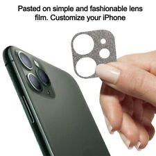 For iPhone 11Pro Max Bling Glitter Shining Lens Protector Glitter Case Cover v