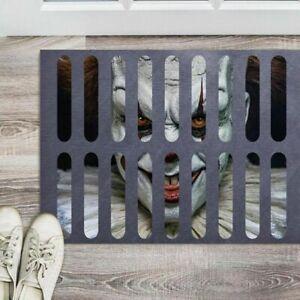 Halloween Clown Door Mat Scary Carpet Horror Welcome Door Mat Home Decoration