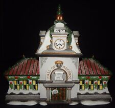 Dept 56 HALL of RECORDS Holiday Lighted House Christmas North Pole Series 56392