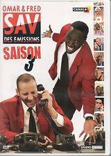 DVD ZONE 2--EMISSION TV CANAL +--OMAR & FRED / SAV DES EMISSIONS SAISON 3--OMAR