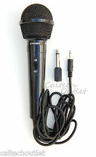 Dynamic Microphone Mic w/Extra Adapter Karaoke Systems & Computers 3.5mm & 6.3mm