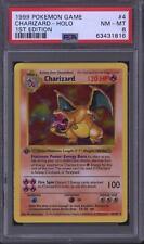 Pokemon Base Set 1st Edition Shadowless Charizard 4/102 PSA 8