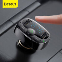 Baseus Bluetooth 4.2 FM Transmitter Auto MP3 Player USB SD AUX Freisprechanlage