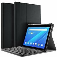Bluetooth Keyboard Smart Case Cover for Lenovo E10 TB-X104F 10.1 inch