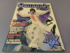 Vintage Osmond's World: Official 1977 Yearbook of the Osmonds