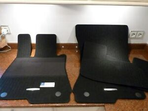 Fußmatten für Mercedes S-Klasse C140 Coupe in Velours Deluxe schwarz